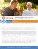 senior living healthcare case study shot
